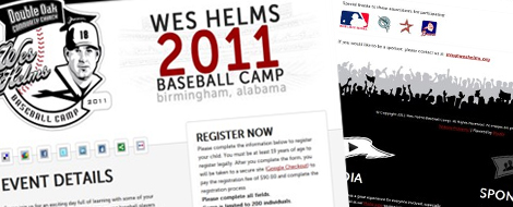 Wes Helms Baseball Camp